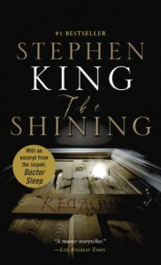 The Shining was Stephen King's third novel, and the new sequel to it, Doctor Sleep, will be published in September 2013.